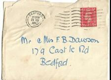 GB, 1949 COVER TO MR & MRS DAWSON, WITH INVITE TO MEET MR CHRISTOPHER SOAMES