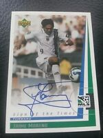 1999 Upper Deck MLS Sign of The Times Autograph - Jaime Moreno