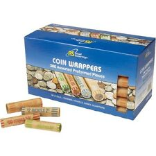Royal Sovereign Preformed Coin Wrappers, 360 ct