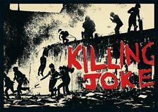 More details for killing joke punk rock repro concert poster