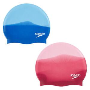 Badekappe Speedo plain moulded Silikon Cap Erwachsene vorgeformte Kopfform Muste