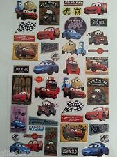 Stickers CARS , autocollant Cars, 40 stickers CARS ,adhésifs du monde CARS