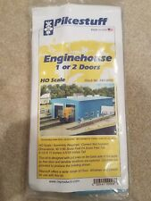 HO SCALE PIKESTUFF ENGINEHOUSE 1 OR 2 DOORS #541-0008 NEW