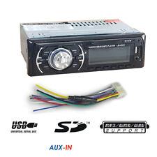 AUTORADIO FM STEREO AUTO 4X50W MP3 USB SD CARD INGRESSO AUX RADIO 6201