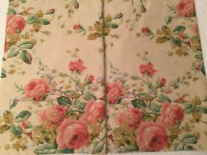 New Ralph Lauren 'Water Floral' Standard Shams French Country/Shabby Chic EUC