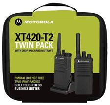 Radio de dos vías de Motorola XT420 Paquete Doble