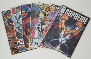 Supreme, Prophet, Battlestone, Youngblood, Violator vs Badrock Image Comics Lot
