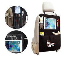 Organizer per auto sedile 4222 multitasche con finestra per tablet portaoggetti