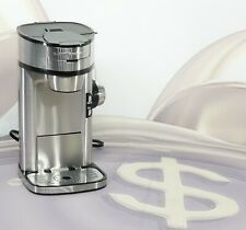 Hamilton Beach Scoop Single Serve Coffee Maker, Stainless Steel 49981A