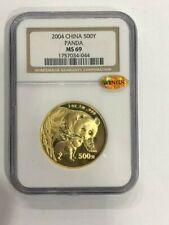 2004 1oz panda gold coin 500 Yuan G500Y NGC MS69  SEE THE PICTURES
