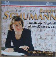 Schumann - Albumblätter op.124, Sonate op.22 - Friederike Richter - Piano - CD