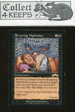MtG Magic the Gathering Exodus: Recurring Nightmare (Rare) LP *A*