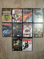 Lot Of 10 Sony Playstation 2 Games Box And Manuals Included