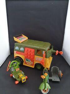 Teenage Mutant Ninja Turtles Party Wagon Vintage Playmates 1989 Bike Cheapskate