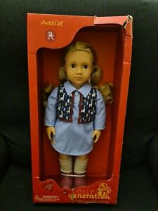 """Our Generation Doll AMALIA with Long Blonde Hair 46cm 18"""" for Ages 3+"""