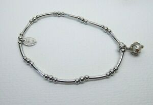 Clogau Gold Silver & Rose Gold Tree of Life Pearl Affinity Bracelet 17cm RRP£129