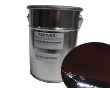 2 litros acabado de Salpicadura Pintura Base OPEL 41c Marrón Metálico lackpoint