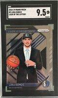 Luka Doncic 2018-19 Panini Prizm Luck of the Lottery Rookie SGC 9.5 Mint+