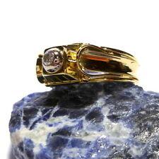 Markenlose Beschichtete Ringe aus Gelbgold mit Diamanten