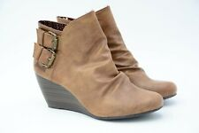 Blowfish Women's  Bug Ankle Boot Whiskey Old Ranger Size US 9 Used