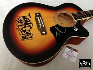 TIM McGRAW Autographed Signed Acoustic Guitar w/ GA COA - NO RESERVE!