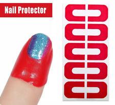50 Pcs Peel off tape Nail art Stamping Painting skin guard protector Stamp Tool