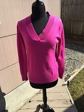 Gap Women's Hooded V Neck Pink Soft  Size Medium Pre-owned