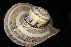 COLOMBIAN HAT~~FINO SOMBRERO VUELTIAO~~CUSTOM DESIGN  ALL SIZES AVAIL