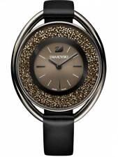 Watch Uhr Crystal Swarovski Crystalline Oval Black Tone 5158517 Montre
