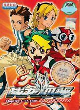 Go For Speed ( Vol. 1-53 End ) H.K TVB Cantonese Version _ DVD Anime Region All
