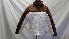 Cabela's for Kids White & Brown Coated Nylon Technical Shell Jacket Youth SizeXL
