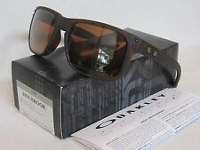 OAKLEY matte tortoise/PRIZM tungsten POLARIZED HOLBROOK OO9102-B9 sunglasses NEW