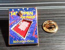 MERCEDES pin TENNIS Parigi Open 1999 smalto di alta qualità da Bertrand 20x27mm