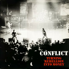 CONFLICT - TURNING REBELLION INTO MONEY CD (1987) UK ANARCHO-PUNK / 32 SONGS