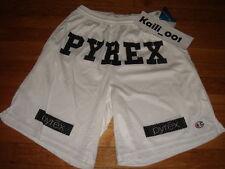 Pyrex Vision Shorts Large Religion Gym White Kanye RSVP Virgil Abloh Black B