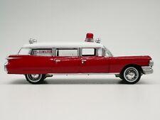 1959 Cadillac Ambulance RARE 1:64 SCALE DIORAMA DIECAST MODEL CAR