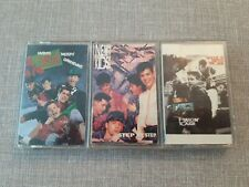 3 X  NEW KIDS ON THE BLOCK ALBUM CASSETTES VINTAGE PREOWNED