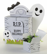 Halloween Elemento Fantasma Tombstones Party Box favor Decoraciones & Caja del favor