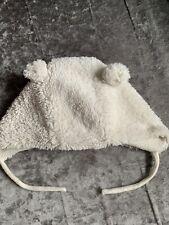 White Zara Winter Hat 12-18 Months