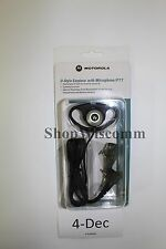 New OEM Motorola PMLN5001A D Ring D Style Ear Piece CP200 SP50 & More