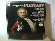 2741 020 VERDI Falstaff BRUSON RICCIARELLI GIULINI DG DIGITAL STEREO 3LP BOX NM