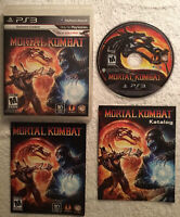 Mortal Kombat (PS3, 2011) Sony PlayStation - Complete - ZERO SCRATCHES
