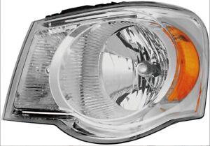 Headlight Assembly 07 08 09 Chrysler Aspen Limited Model Left With Bulb New