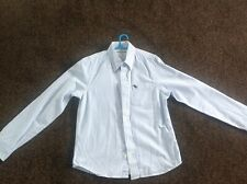 Boys Abercrombie & Fitch blue and white striped shirt Age 12 (L)