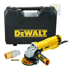 Dewalt DWE4206K 115mm 4.1/2in 110v 1010w angle grinder with carry case