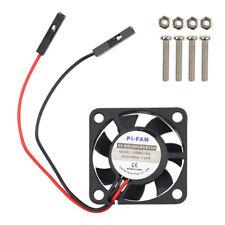 3.3V 5V Cooling Fan for Raspberry Pi 2 3 Model 13200RPM 0.18A 18 decibel