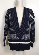 Chic VINTAGE ESCADA Deep V-neck Sweater