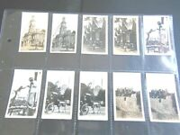 1927 Cavenders  PEEPS INTO MANY LANDS  photos set 72 Tobacco Cigarette cards