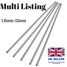 2-12mm Stainless Steel 304 Tube Pipe Model Arts Craft RC Tubing Round DIY 250mm