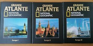 NATIONAL GEOGRAPHIC GRANDE ATLANTE EUROPA I, II, III